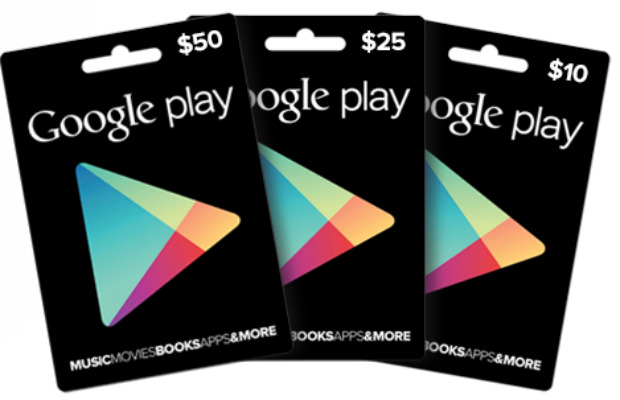 play store giftcards