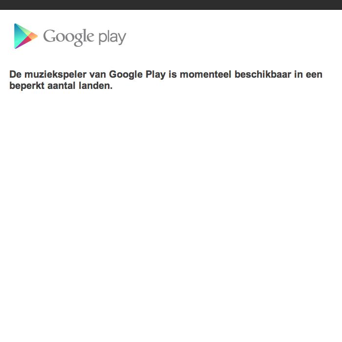 google niet beschikbaar