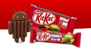 Google KitKat actie