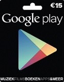 De Google Play Giftcards zijn te koop in Nederland